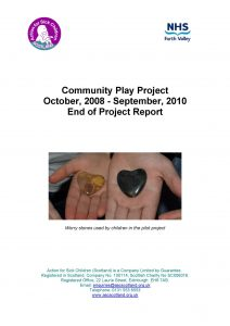 Community Play report cover