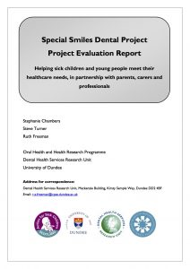 Special Smiles Dental Project Evaluation Report 2007-09