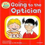 Going to the Optician (First Experiences with Biff, Chip and Kipper) cover