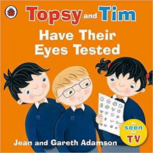 Topsy and Tim have their Eyes Tested cover