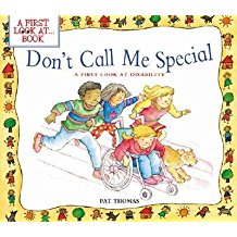 Don't Call me Special cover